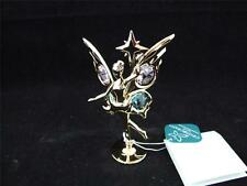 Crystocraft Free Standing Fairy with Star Ornament.