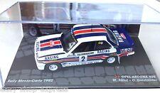 VOITURE RALLYE 1/43 OPEL Ascona 400 MONTE CARLO 1982 RÖHRL IXO RALLY CAR