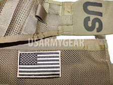 New Coyote Desert Tan US Army American Flag Military Uniform Patch Standard