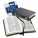 CAMBRIDGE CONCORD FRENCH MOROCCO BLACK LEATHER BIBLE KJV PERSONAL SIZE KING JAME