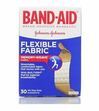 BAND-AID Bandages Flexible Fabric All One Size 30 Each
