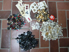 Great Assortment of Vintage Sewing Buttons