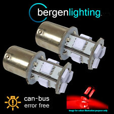 207 1156 BA15s CANBUS ERROR FREE XENON RED 9 LED TAIL REAR LIGHT BULBS TL201001