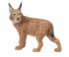 Lynx 6 cm animaux sauvages Collecta 88565