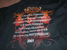 BNWOT BULLET FOR MY VALENTINE THE POISON T SHIRT AGE 7-8 128CM 2005 TOUR