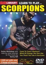 Lick Library Learn To Play Scorpions Blackout Vientos De Cambio De Metal Guitarra Dvd