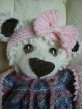 Softest Ever Teddy Bears - Snuggles+Cuddles+Babies -  Soft Toy Knitting Pattern