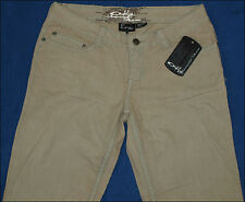 "BNWT WOMENS AUTHENTIC OAKLEY STRETCH JEANS UK6 L32"" NEW ROCK FADER"