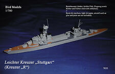 "Leichter Kreuzer ""Stuttgart"" (Kreuzer ""R"")     1/700 Bird Models Resin Kit"
