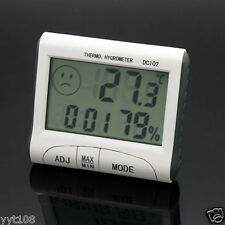 LCD Auto Display Thermometer Humidity Temperature Meter with Magnetic Stick
