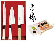 Traditionelle japanische Kochmesser Sushi Messer 3 Set Küchenmesser kochen Koch