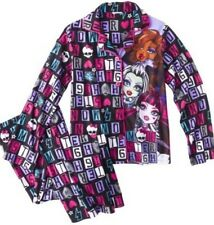MONSTER HIGH GIRLS PAJAMAS SET NEW  with tags SIZE 6/6X Sleepwear New With Tags