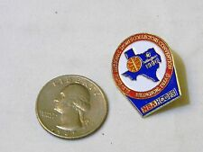 NBA HOOPS ARLINGTON TEXAS LAPEL PIN A33