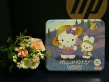 Sanrio Hello Kitty Lavender Kitty and Friend Letter Set with Metal Case @2001
