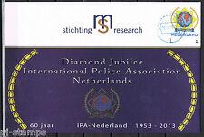 Nederland Persoonlijke Postzegel 3012 IPA embleem op FDC  - gegomd