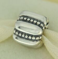 Authentic Pandora 790446 Crazy Clip Sterling Silver Bead Charm