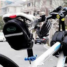 New Bicycle Bike Cycling Saddle Bag Outdoor Pouch Back Tail Rear Seat Storage Q