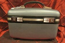 Vintage American Tourister Makeup Cosmetic Train Case Luggage Carry-On Suitcase