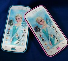 Kids Toy Mobile phone Smartphone Learning device Music Song ABC,Princess Elsa