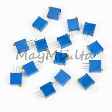 5 Brand New Values 3296 Trimmer Trim Pot Resistor Potentiometer Kits Each 1