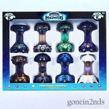Skylanders cristales de creación de imaginators - 8 Paquete-incluye Dark & Luz Nuevo y Sellado