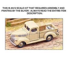 N SCALE: 1941 CHEVROLET PICK-UP TRUCK - GHQ KIT #57007