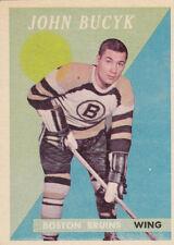 1958-59 Topps   #40 John BUCYK Boston Bruins  VG/EX