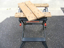 NEW Birch Ply Vice Mascelle/superiore per & Decker workmate BLACK wm550. PEZZI di ricambio.