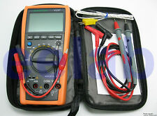 Aidetek VC97 DIGITAL AUTO RANGE MULTIMETER TESTER CONDENSATORE FREE & FAST Shipping