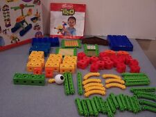 Fisher Price 78 pc Building Set lot Trio Blocks daycare toddler toy not complete