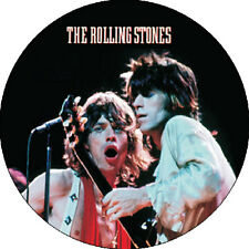 CHAPA/BADGE THE ROLLING STONES Keith Richards & Mick Jagger . beatles brian jone