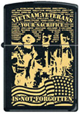 Vietnam Veteran  ~ Your Sacrifice Is Not Forgotten  ~ Military Zippo Lighter
