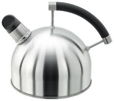Stellar Stove Top Whistling Brushed Stainless Steel 1.6L Kettle - SV60
