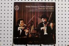 Itzhak Perlman/Zukerman - Duets For Two Violins LP 1977 Angel S-37406 NM