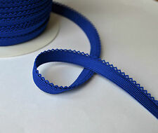5 m of decorative elastic lace braid trim picot edge 14 mm wide sewing crafts