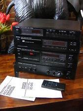 Vintage ROTEL HI-FI qualità separa sistema rt-850al rcd-865 rd-865 ra-840bx4