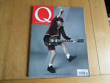 Q MAGAZINE NO. 268 NOVEMBER 2008  AC/DC, OASIS, KEANE, AL MURRAY, SANTOGOLD