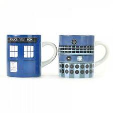 Dr. Who - Mini Tassen 2er Set - 110ml - Tardis & Dalek - Geschenkbox