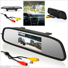 "DC12-24V 4.3"" LCD TFT Vehicles Reversing Backup Rear View Mirror Color Monitor"