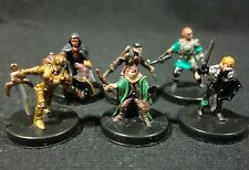 Dungeons & Dragons Miniatures Lot  Halfling & Gnome Characters !!  s91
