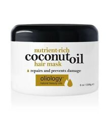 OLIOLOGY Nutrient-Rich Coconut Oil Hair Mask 226g-Repairs And Prevents Damage