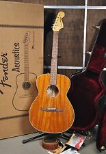 Fender Custom Shop Newporter Pro Electric Acoustic Guitar, Made in USA
