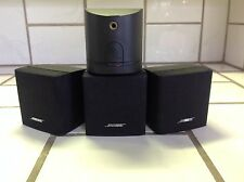 BOSE ARRAY SINGLE Cube Speaker theater sound[1/one each] @ $49.90 [10 available]