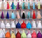 2015 Ballkleider Abendkleider Brautkleider CocktailKleid Hochzeitskleid Gr 34-46