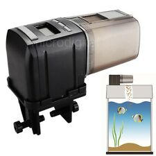 NEW Auto Fish Feeder LCD Aquarium Tank Automatic Food Feeding Timer Dispenser