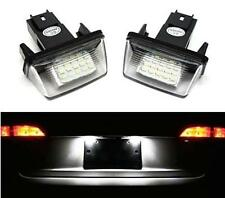 FEUX ECLAIRAGE DE PLAQUE LED BLANC XENON CANBUS PEUGEOT 206 QUICKSILVER ECO