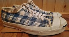 Converse jack purcell rare plaid made in usa size 9