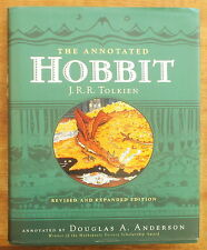 THE ANNOTATED HOBBIT by J.R.R. TOLKIEN Annotated by Douglas Anderson ILLUSTRATED