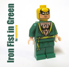 LEGO Custom - Iron Fist Green - Marvel Super heroes mini figure