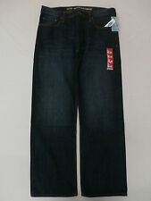 Old Navy Men's Straight-Fit Jeans New Dark Authentic Size 36x32 NWT